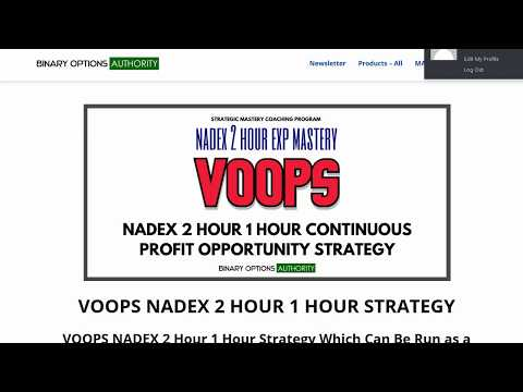 Binary options signals for nadex login clippers warriors betting odds