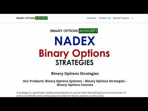 Binary Options Strategies Overview Page
