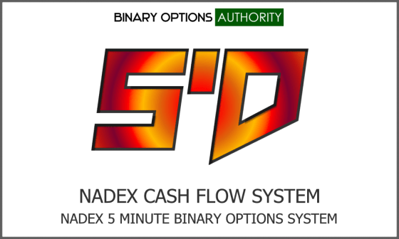5'D NADEX Cash Flow 5 Minute Binary Options System