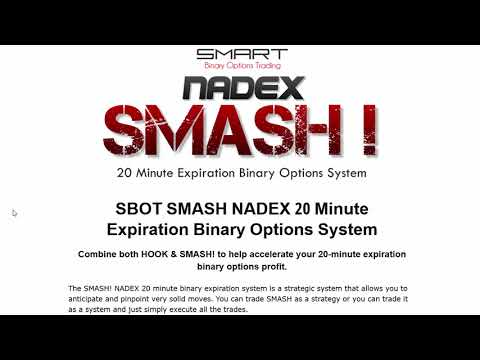 SMASH NADEX 20 Minute Expiration Binary Options System Review